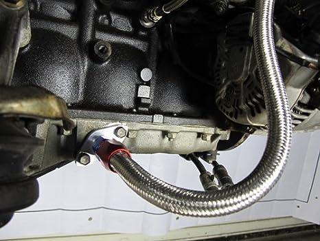 Petróleo Línea Kit de montaje AN10 AN4 para Toyota Supra 1jzgte 2jzgte único Turbo: Amazon.es: Coche y moto