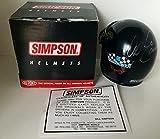 Dale Earnhardt Sr Signed GM Goodwrench Service Simpson Mini Helmet - Autographed NASCAR Helmets
