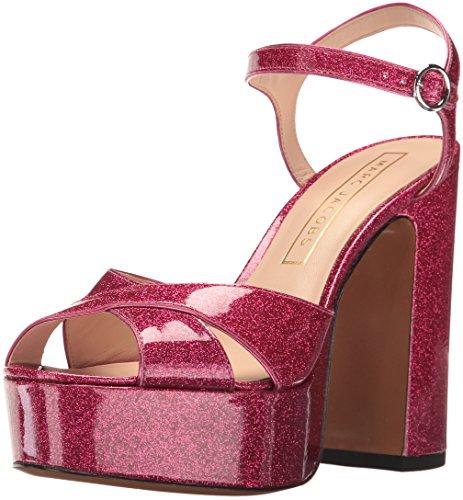 Marc Jacobs Women's Lust Platform Sandal, Pink, 38.5 EU/8.5 M US