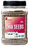 #7: BetterBody Foods Organic Chia Seeds, Non-GMO, Great Taste, 2 Pound