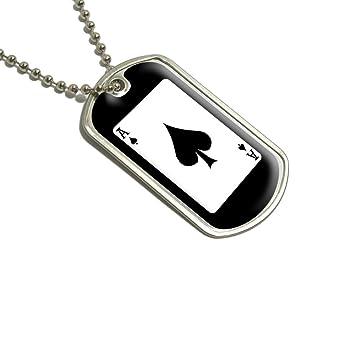Amazon.com: Naipes Ace of spades – Poker Militar Perro ...