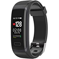 Seegar Fitness Tracker, Customized Activity Tracker with Heart Rate Monitor and Sleep Monitor, GPS Route Tracking Pedometer Step Counter, IP67 Waterproof Bluetooth Pedometer