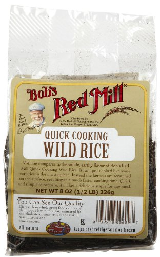 Bob's Red Mill Quick Cooking Wild Rice -- 8 oz by Bob's Red Mill