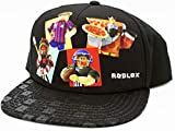 bioworld Roblox Friends Youth Snapback Hat Black Adjustable for Boys and Girls