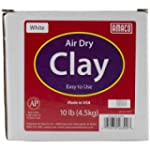 Amaco Air Dry Modeling Clay, 10-Pound...