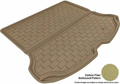 3D MAXpider Cargo Custom Fit All-Weather Floor Mat for Select Volvo XC60 Models - Kagu Rubber ()