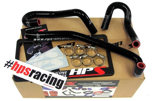 HPS 57-1340-BLK-1 Black Silicone Heater Hose Kit (Coolant)