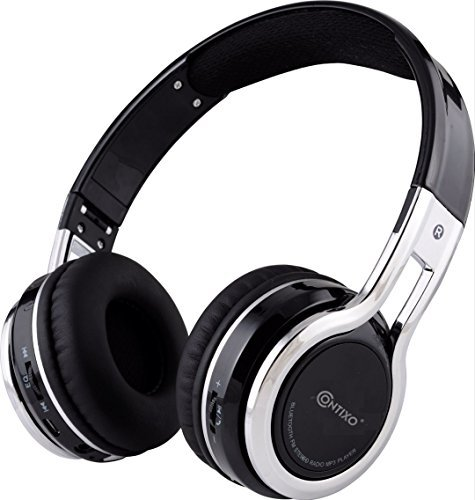 Contixo Foldable Bluetooth Headphone Microphone product image