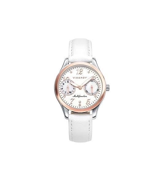 Reloj Viceroy Niña 42206-05 Blanco Comunión Multifunción: Amazon.es: Relojes