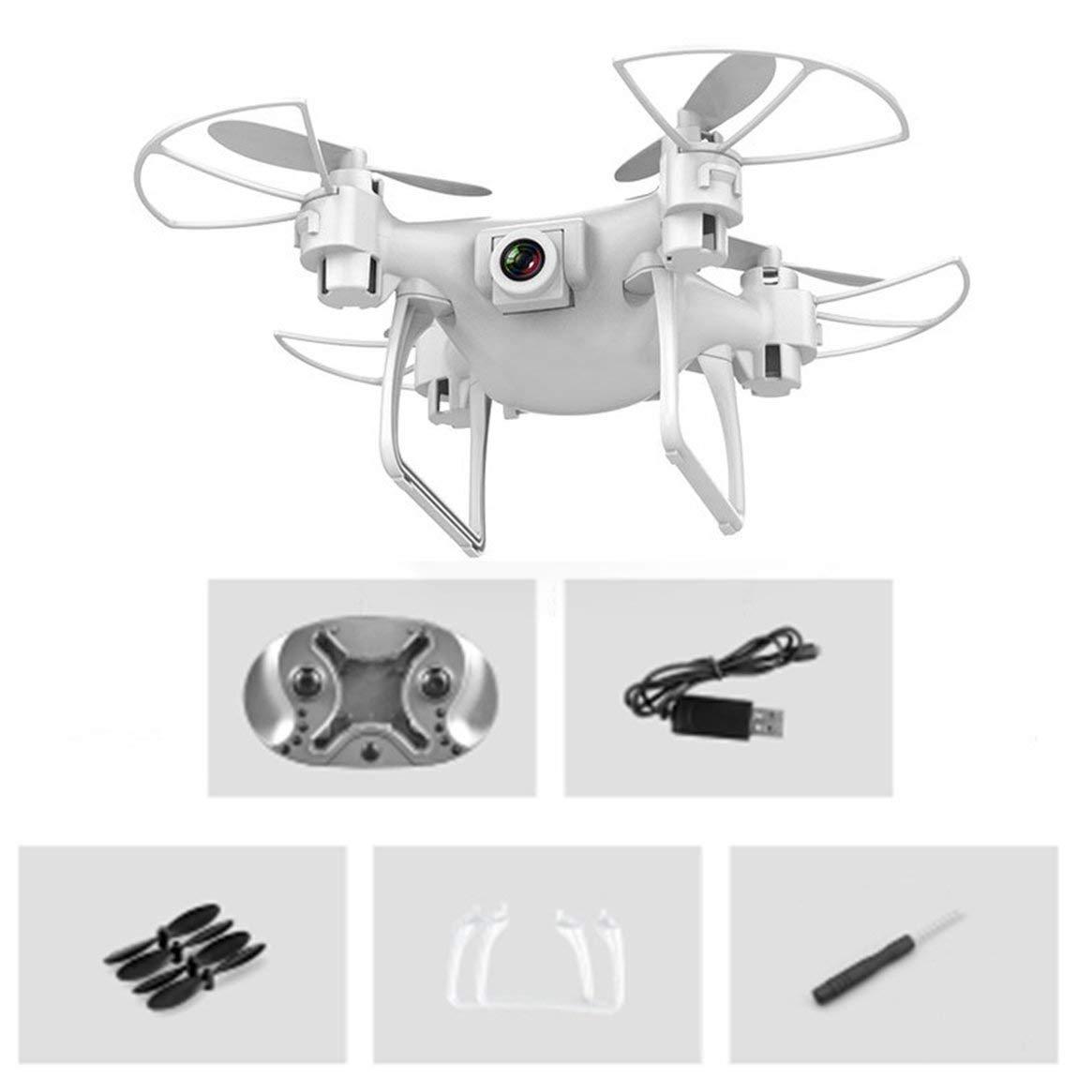 Delicacydex Multifunktionsflugzeug S26 Mini Aerial UAV 2 Millionen Pixel mit Kamera - Weiß