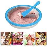 Barcley Sweet Spot Instant Ice Cream Maker,roll Ice Cream Maker-Ice Cream Machine for Handmade Ice Cream Custard Frozen Yogurt Sorbet Gelato,No Electricity Need,Easy to Clean (Blue) - Ship from US
