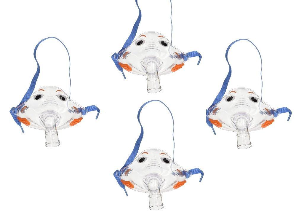 Pari Respiratory Bubbles the Fish II Pediatric Mask (4-Pack)