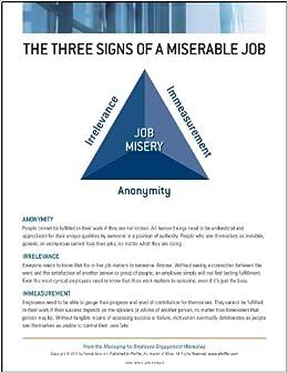 Managing for Employee Engagement (J-B Lencioni Series)