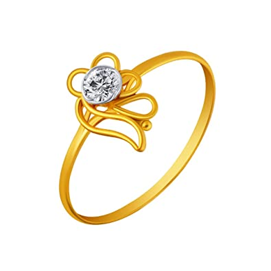 Buy P C Chandra Jewellers 14KT Yellow Gold Ring for Women line