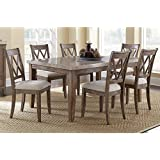 Greyson Living Fulham Marble Top Dining Set By 8 Piece 8 Piece Sets