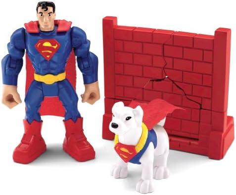 Fisher-Price Imaginext DC Super Friends 2.5/'/' Superman /& Joker Figures Gift