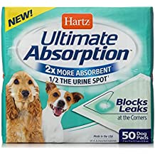 HARTZ Ultimate Absorption Dog Pads - 50 Count
