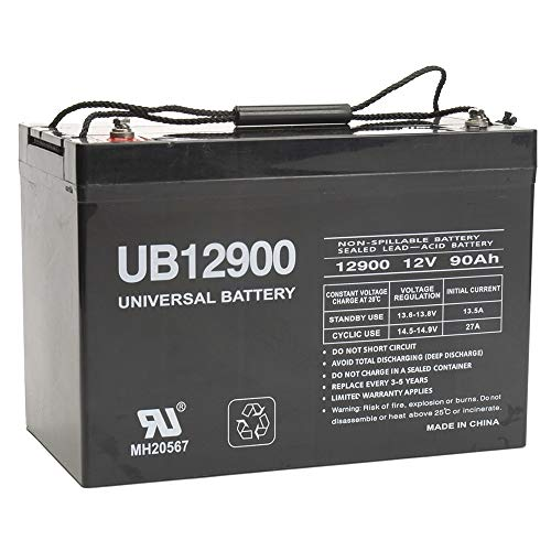 Universal Power Group 12V 90Ah Battery for John Deer Ford New Holland Kioti Melore Farm Tractor (Farm Tractor Battery)