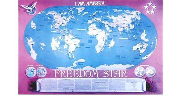 I AM America Freedom Star World Earth Changes Map: Lori Adaile Toye ...