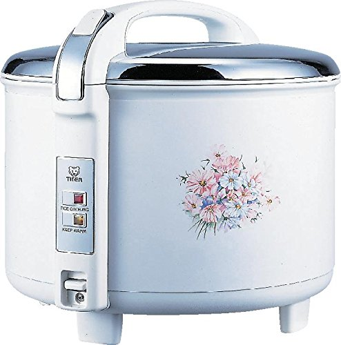 Tiger JCC-2700-FG 15-Cup (Uncooked) Rice Cooker and Warmer, Floral White