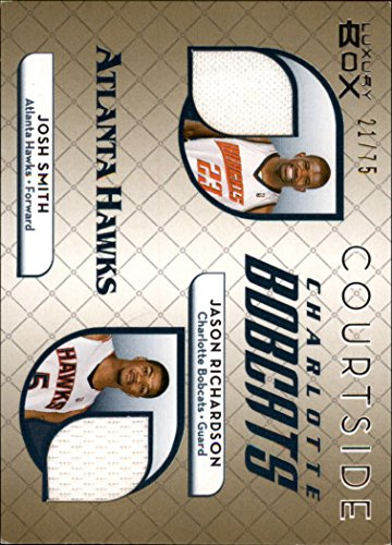 2007-08 Topps Luxury Box Courtside Gold Jason Richardson/Josh Smith Jersey ()