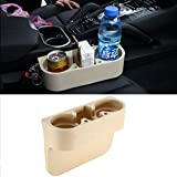 Vehicle Drink Cup Holder,Truck Car Seat Wedge Cup Holder Valet Beverage Can Bottle Cell Phone Stand Storage Box