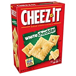 Cheez-It Baked Snack Cheese Crackers, Wh...