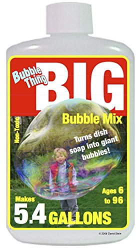 Bubble End - Bubble Thing BIG Bubble Mix - MAKES 5.4 GALLONS! - Bubbles Biggest, Costs Least!