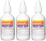 Major Pharmaceuticals Deep Sea Generic for Ocean Nasal Moisturizing Spray 1.5 oz, 3 Count