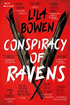 Conspiracy of Ravens (The Shadow Book 2) by [Bowen, Lila]