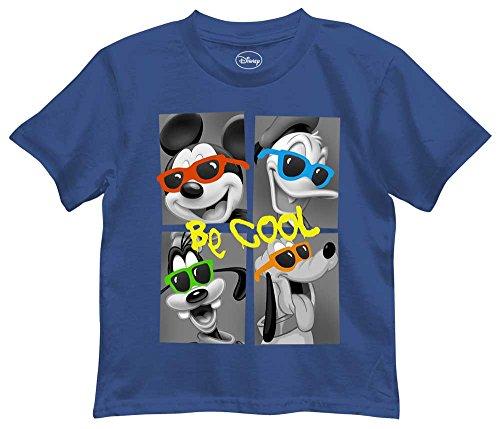 Disney Boys Mickey Mouse, Donald Duck, Goofy and Pluto T-Shirt