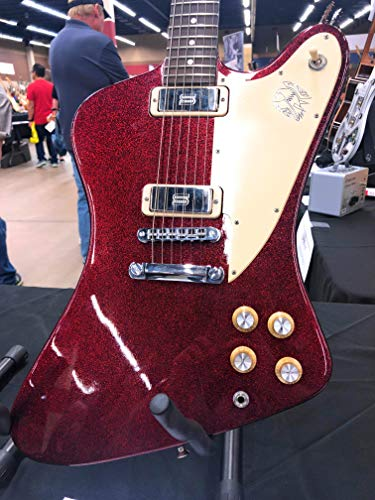 Electric Sparkle Red Guitar (2012 Gibson Firebird Red Sparkle 70s Tribute Electric Guitar Seymour Duncan Pickups)