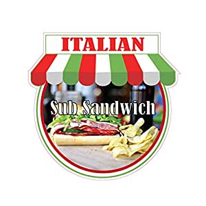 Amazon com : Italian Sub Sandwich Concession Restaurant Food Truck
