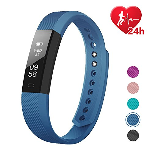 LETSCOM Fitness Tracker Watch with Heart Rate Monitor (Large Image)