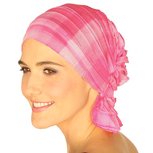Chemo Beanies ®, Chemo Head Cap, Head Scarf, Hat for Women Cancer Patients (Savannah)