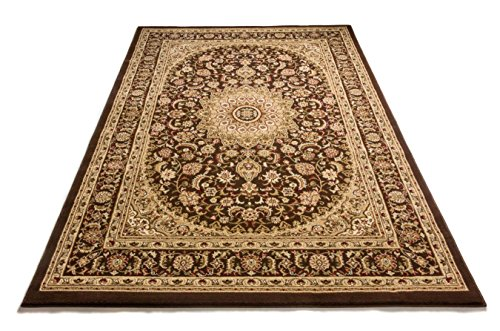 (Well Woven 36475 Timeless Aviva Traditional French Country Oriental Brown Area Rug 5'3