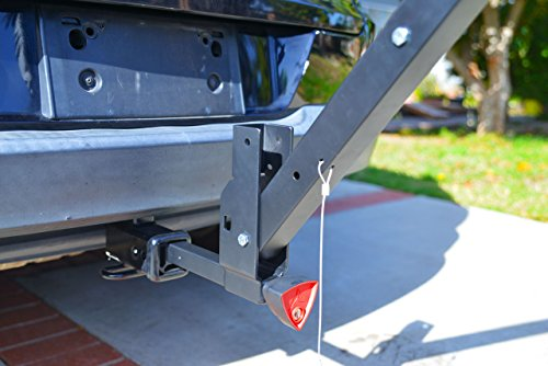 Allen Sports Deluxe Locking Quick Release 2-Bike Carrier for 2 in. & 1 4 in. Hitch by Allen Sports (Image #5)