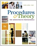 img - for Procedures & Theory for Administrative Professionals (with CD-ROM) (Administrative Support Concepts) by Patsy Fulton-Calkins (2008-02-28) book / textbook / text book