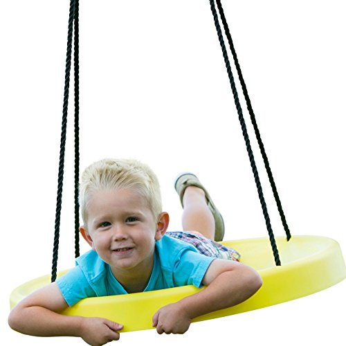 Super Spinner Swing--Fun, Easy to Install on Swing Set or Tree! (Spinner Tree)