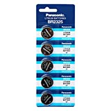 Panasonic BR2325 3V Lithium Battery 1PACK X (5PCS) Single Use Batteries