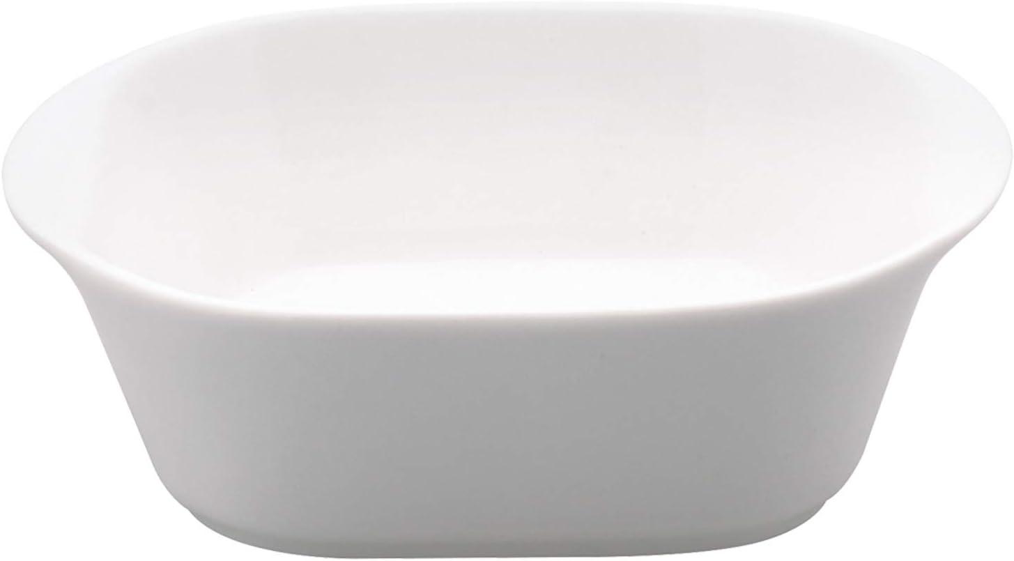 Fuente de porcelana para servir (17 x 15 x 5 cm)