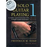 Solo Guitar Playing, Third Edition Book 1 - with CD (Classical Guitar) ~ Frederick M. Noad