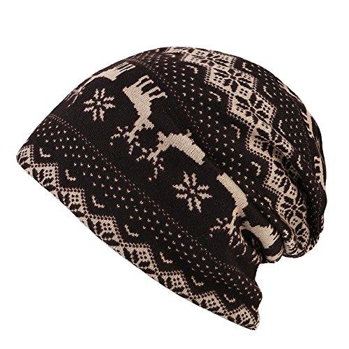 Navidad casual Halloween Sombreros MASTER tapas beanie caliente caps cabeza Señoras Baotou sombreros Sombrero Sombreros marrón Brown otoño señoras cabeza ' d5xa6xwqR