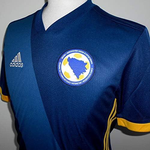 adidas Selección Bosnia Herzegovina - Camiseta de Equipación Hombre: Amazon.es: Ropa y accesorios