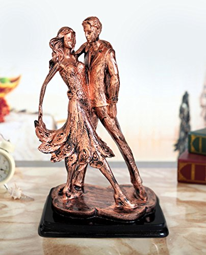 - TiedRibbons Passionate Dancing Sculpture Art Statue Romantic Ornament Couple Figurine for Gifts and Home Decoration