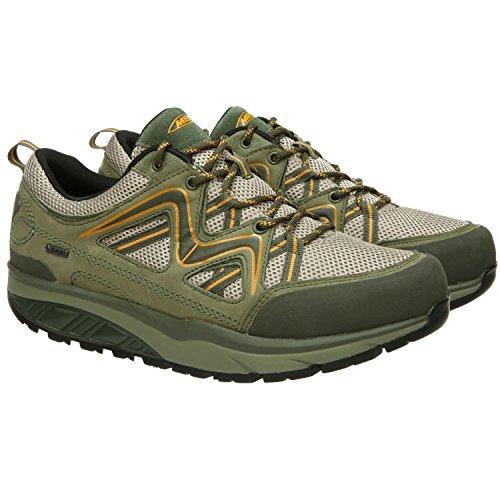 Lacets Military Vert Yellow Femme MBT Ville de Pour Chaussures à IxFTq1A