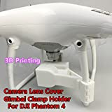 XSD MOEDL DJI Phantom 4 Camera Lens Cover Protect Gimbal Clamp Holder Stabilizer 3D Printing