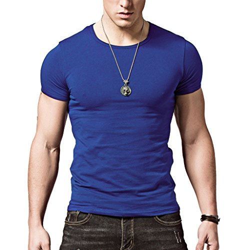 xshing mens slim fit t shirts soft short sleeve athletic
