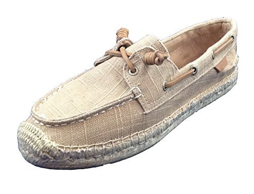 Sperry Top-Sider Womens Canvas Slip On Boat Shoes Tan 7