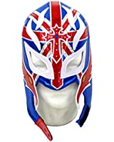 Rey Mysterio Adult Lucha Libre Wrestling Mask (Pro-fit) Costume Wear -UK Tribute